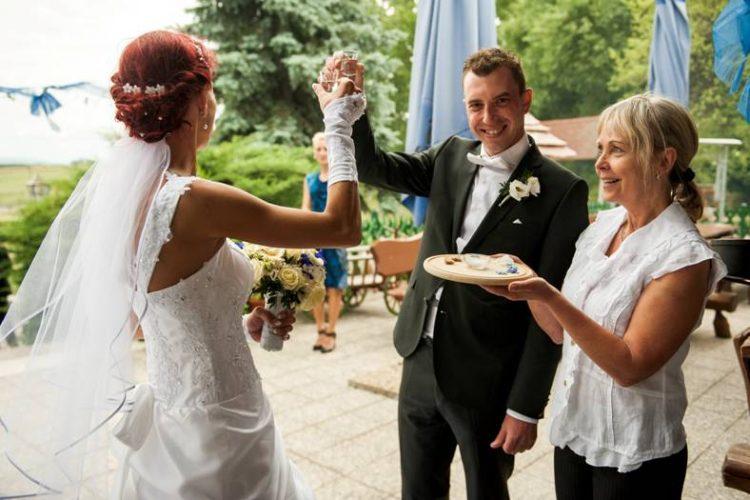 Hochzeit Salz und Brot